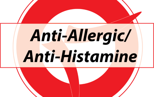 Anti-Allergic/Anti-Histamine