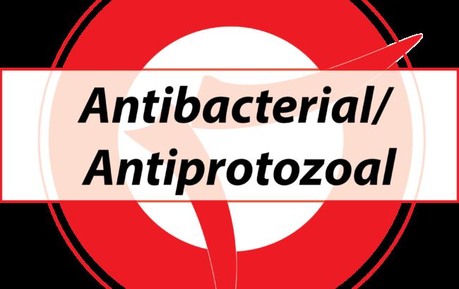 Antibacterial/ Antiprotozoal