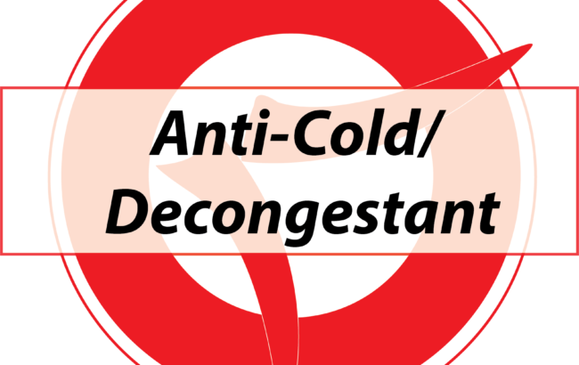 Anti-Cold/ Decongestant/ Antipyretic