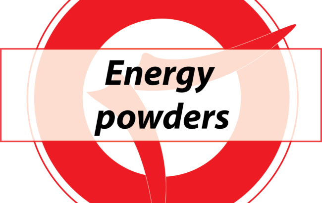 Energy powders